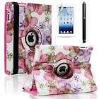 iPad 2 Case Pink Flowers