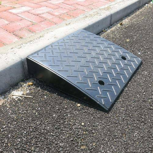 5.9''H Heavy Duty Rubber Curb Ramp 22000lbs for Loading Bike
