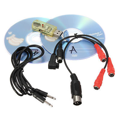 12 in1 flight Simulator Cables USB Dongle RC Helicopter Aeroplane Ting
