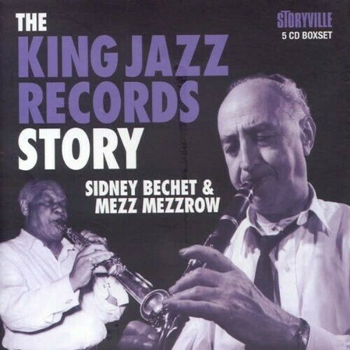 Sidney Bechet - The King Jazz Records Story [new Cd] Boxed Set