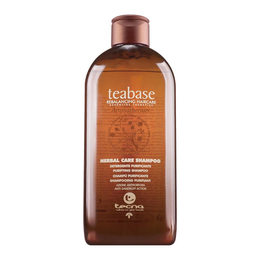 Tecna Teabase Herbal Care Shampoo 250 ml / Capelli con Forfora - Antiforfora