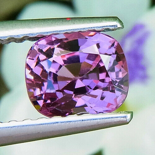 UNHEATED 1.21 CT CLEAN NATURAL PINK CUSHION SPINEL