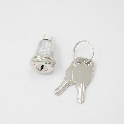 New Key Switch Onoff Lock Ks-02 Ks02 Electronic With Keys New.