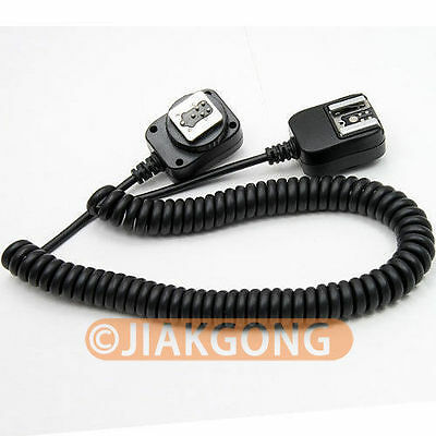 DSLRKIT 3M 3 meter E-TTL Off Camera FLASH sync Cable Cord for Canon