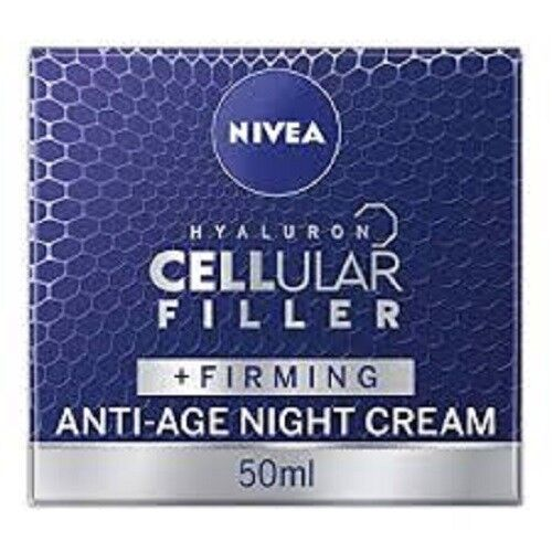 NIVEA CELLULAR FILLER + FIRMING ANTI AGE NIGHT CREAM 50ml BRAND NEW BOXED