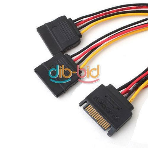 Sata Power Splitter : Sata power splitter cables connectors ebay