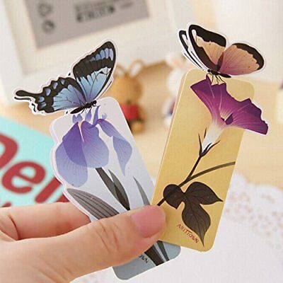 Cute 3D Butterfly Shape Bookmark  Book Holder  Good Gift To Readers  Book Clubs