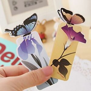 Cute 3D Butterfly Shape Bookmark! Book holder, Good Gift to Readers, Book Clubs!