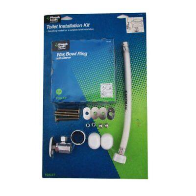 PlumbCraft Toilet Installation Kit, #70-295