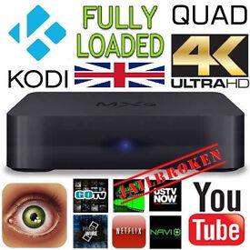 New 2016 4K Quad Core Android TV Box KODI 16.1 Media Player auto updates