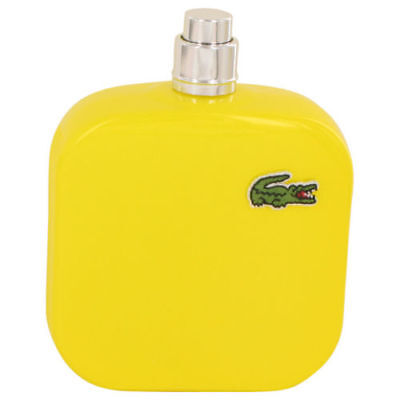Lacoste Eau De Lacoste L.12.12 Jaune Optimistic Cologne for Men 3.3 oz Tester