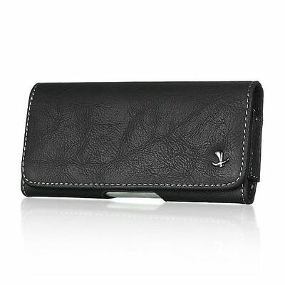 Matte Horizontal BeltClip Leather Pouch Case for Samsung Galaxy Grand Prime LTE Deluxe Horizontal Leather Pouch Case