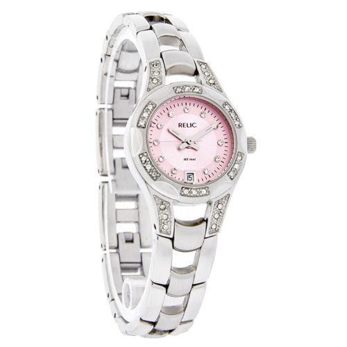 womens fossil watch pink ebay