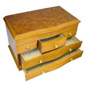 Wooden Jewel Box