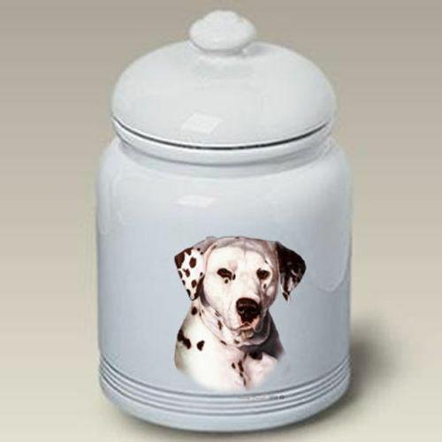 Dalmatian Ceramic Treat Jar TB 34009
