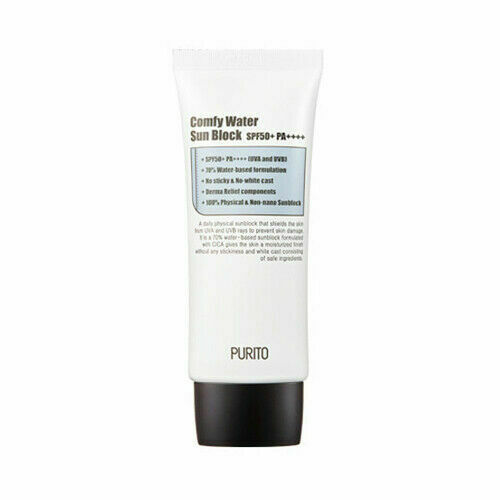 PURITO Comfy Water Sun Block SPF50+ PA++++ 60ml / Free Gift / Korean Cosmetics