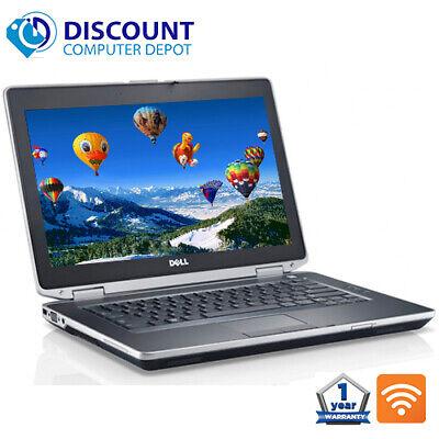 "Laptop Windows - Dell Latitude 14.1"" Laptop Computer PC i3 4GB 500GB HD HDMI Wifi DVD Windows 10"