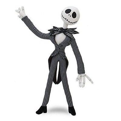 Disney The Nightmare Before Christmas Jack Skellington Poseable Plush Doll Toy ()
