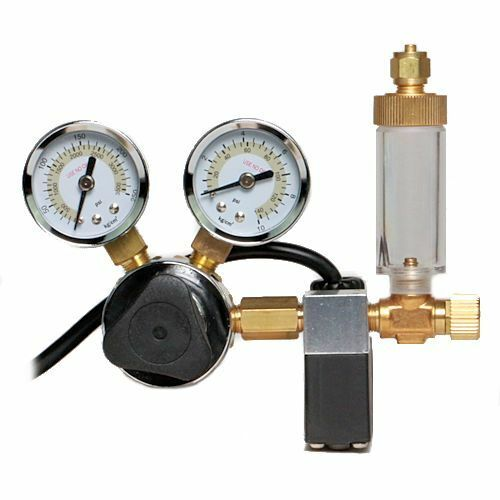 Milwaukee CO2 Regulator w/Solenoid Valve, MA957