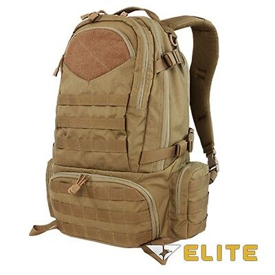 Condor 111073 Tactical Elite Titan Assault Hiking Travel Combat Backpack Brown