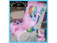 My Little Pony Character Themed Gaming Style Chair