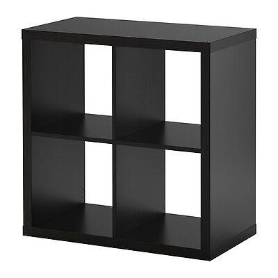 Ikea Kallax 2 x 2 Shelf Unit Black Brown 602.758.12 for sale  Battle Ground