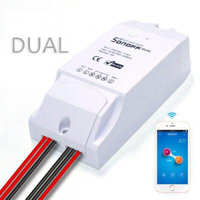 Sonoff Dual WiFi Wireless Smart Swtich Module Power APP control Home Light DIY