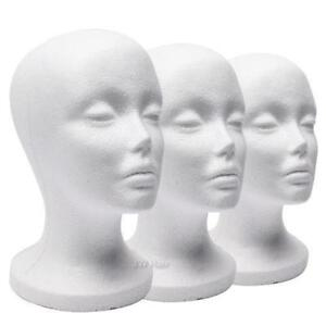 Foam Mannequin Head Display Wholesale Small Or Medium Neck Size