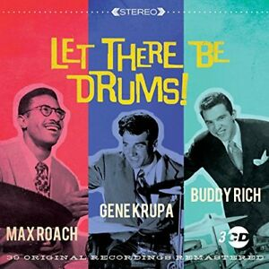 Gene Krupa Buddy Rich Max Roach - Let There Be Drums! [CD]