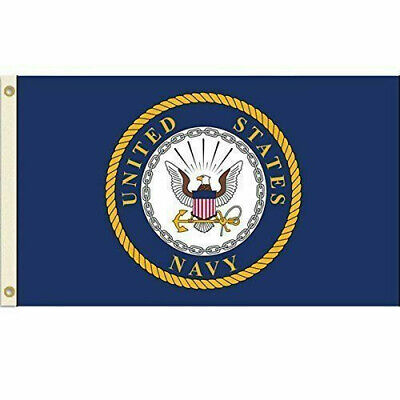 United States Navy Flag USN Emblem Banner US Military Pennant New - Flag Banner