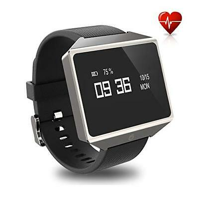 Graphene Smart Watch with Heart Rate Monitor Blood Pressure ECG and PPG