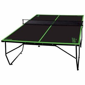 """Franklin Quikset 60"""" Indoor Table Tennis Table (Used, Good - missing net)"""