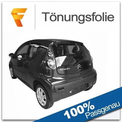 Passgenaue Tönungsfolie für Citroen C3 I 5-Türig 04//2002-10//2009