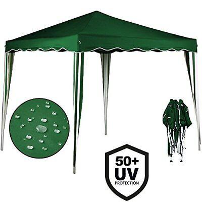 Cenador plegable de jardín carpa de plástico impermeable pop-up 3 x 3...