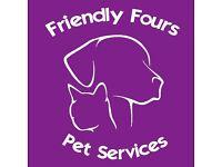 Friendly Fours Pet Services - Dog Walking, Dog Sitting, Cat/Dog Vists, Pet Taxi