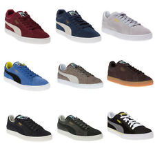 Men's Puma Blue Suede Classic Trainers Retro - DL