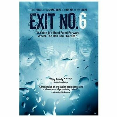 EXIT NO. 6 , EDDIE PENG, JUAN CHING-TIEN, YOO HA-NZ, OLIVER CHEN (dvd disc only)