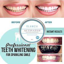 Poudre Blanchiment dentaire au charbon actif - Glamza ®