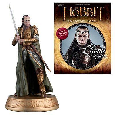 Eaglemoss * Elrond * 18 Elf Figurine & Magazine Hobbit Lord of the Rings LOTR