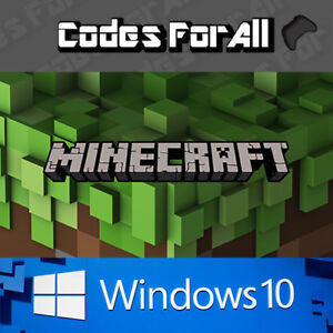 Minecraft Windows 10 Edition PC FULL GAME Region Free DIGITAL DOWNLOAD INSTANT