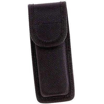 Black Molded Nylon Sheath Knife Belt Loop Pocket Knife Holster Pouch Case Holder