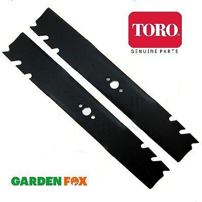 Pair of genuine TORO Timemaster 30 (Twin Cutter) Mower Blades 120-9500-03 1246 #