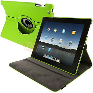 GREEN 360 ROTATING PU LEATHER CASE COVER WITH STAND FOR IPAD AIR Regina Regina Area image 6