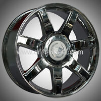 ENSEMBLE DE MAG CADILLAC ESCALADE 22'' CHROME