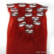 Red Human Hair Extensions