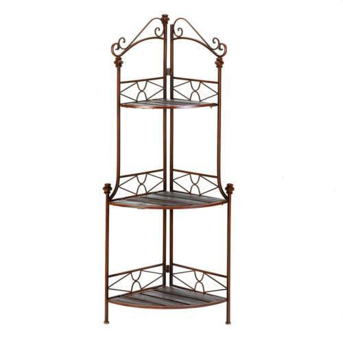 Metal Corner Shelf Home Garden Ebay