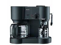 Krups CafePresso 10 Plus (Art. 866) Filter/Espresso/Cappuccino - Better than Tassimo machines