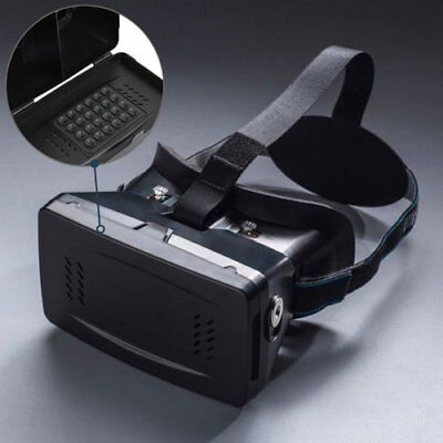 Virtual Reality VR Headset 3D Glasses W/ Remote for Android