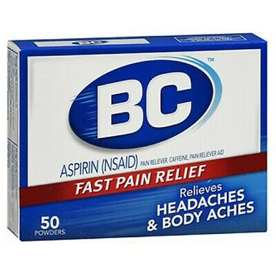 BC Pain Relief Powders 50 Each  by Med Tech Products