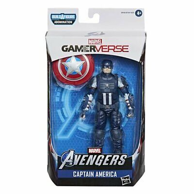 SHIPS 5-8! Avengers Video Game Marvel Legends 6-Inch Captain America AF HASBRO